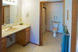Bathroom of 1 bedroom suite