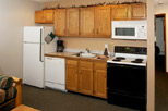 Kitchen of 1 bedroom suite