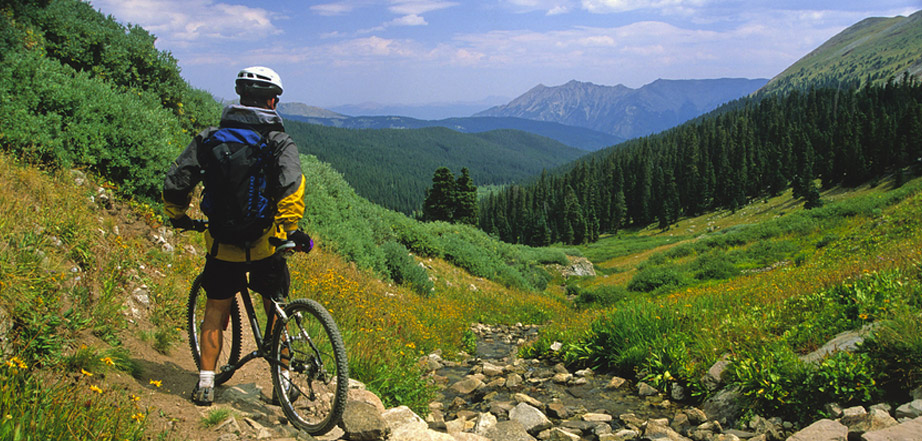 If you're looking for information on Estes Park biking, contact Aspen Winds on Fall River.