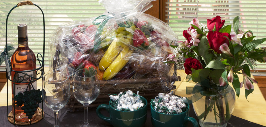 Gift baskets and packages